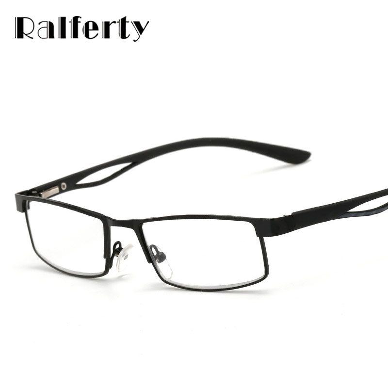 Ralferty Small Square Frame Hyperopia Eyeglasses Prescription ...