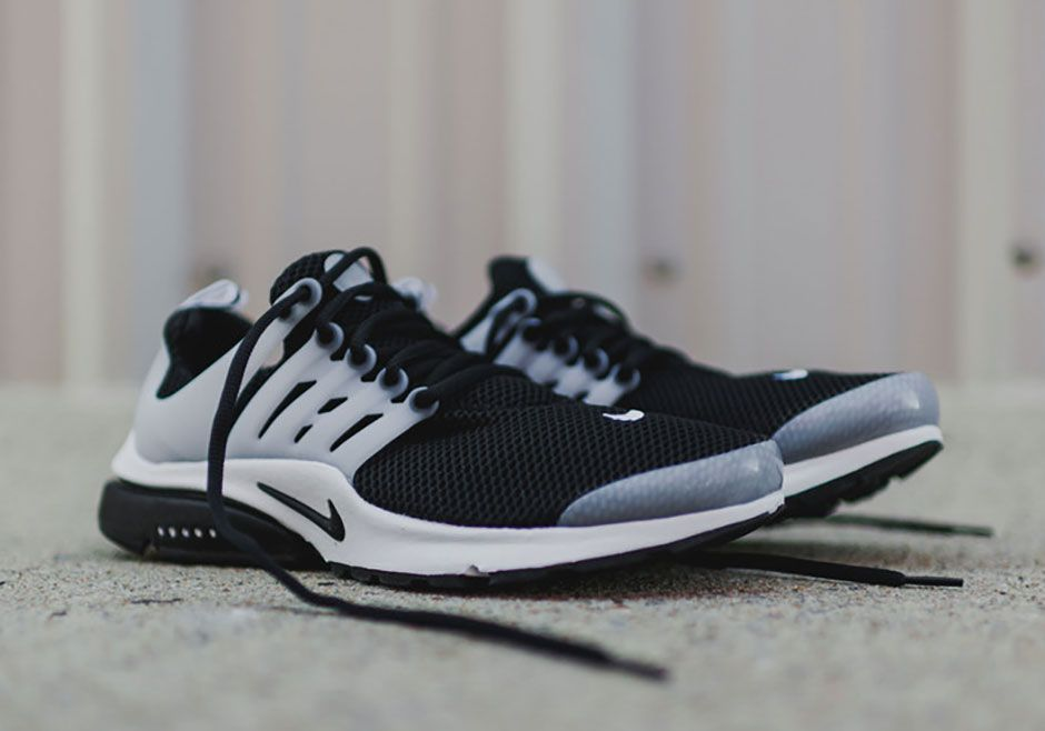nike air presto black white available