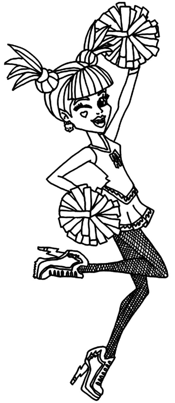 Ever After High Cheerleader Coloring Pages Download Print Online Coloring Pages For Free Color Ni Bear Coloring Pages Coloring Pages Hello Kitty Coloring