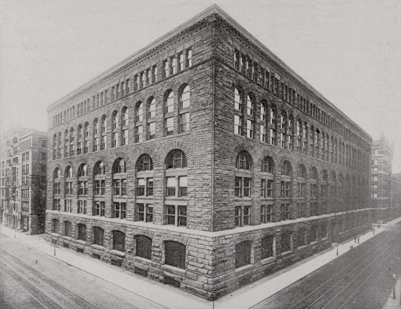 Henry Hobson Richardson Marshall Field Wholesale Illinois