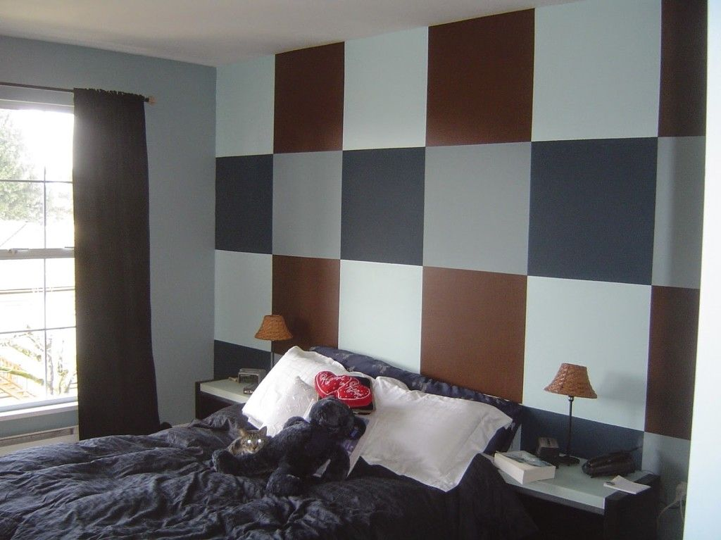 Multi Color Paint Ideas For Bedroom With An Accent Wall 4
