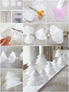 Weihnachtsbaum Zum Hinstellen Selbermachen Fur Die Tischdeko Zu