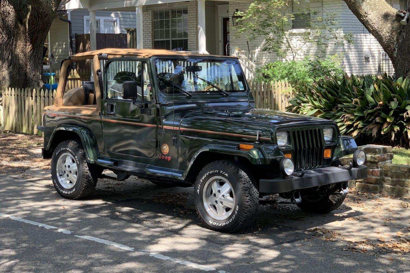 44kMile 1995 Jeep Wrangler Sahara Jeep wrangler