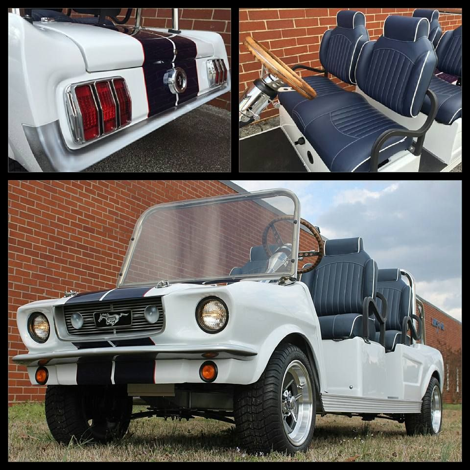 Custom Mustang golf cart featuring Lazy Life high back premium ... on golf cartoons, golf players, golf buggy, golf accessories, golf handicap, golf trolley, golf games, golf card, golf hitting nets, golf tools, golf girls, golf machine, golf words,