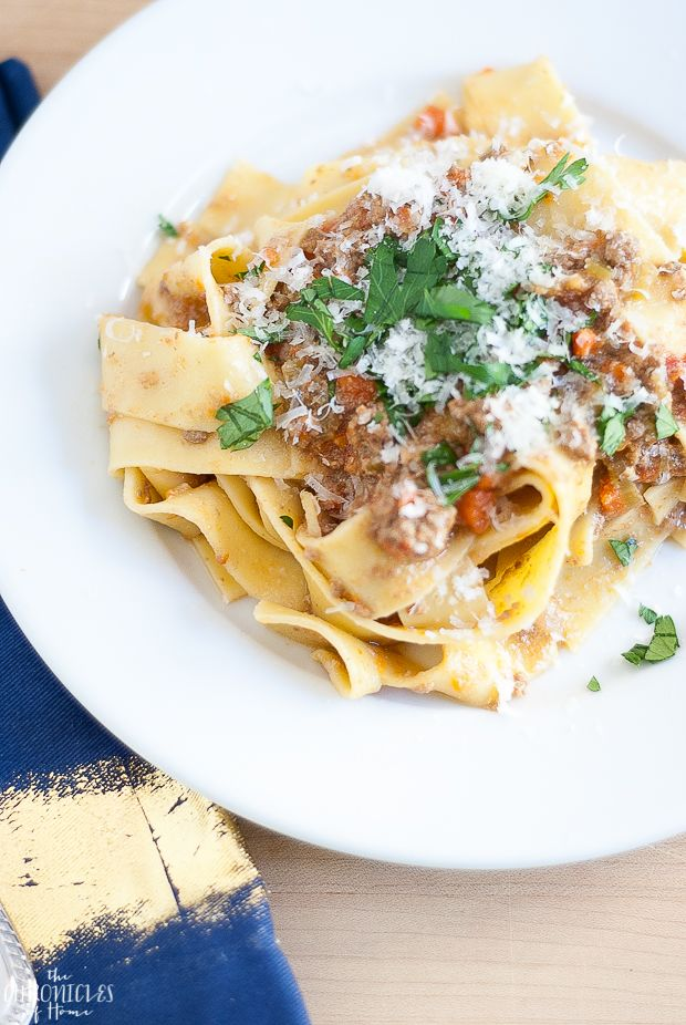 The BEST Traditional Bolognese Sauce - The Chronicles of Home
