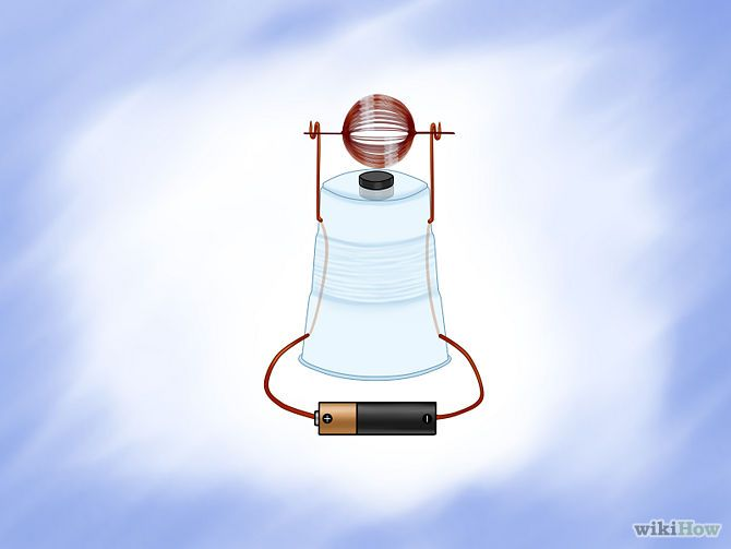 simple homemade electric motor. Build A Simple Electric Motor (step-by-step) Homemade C
