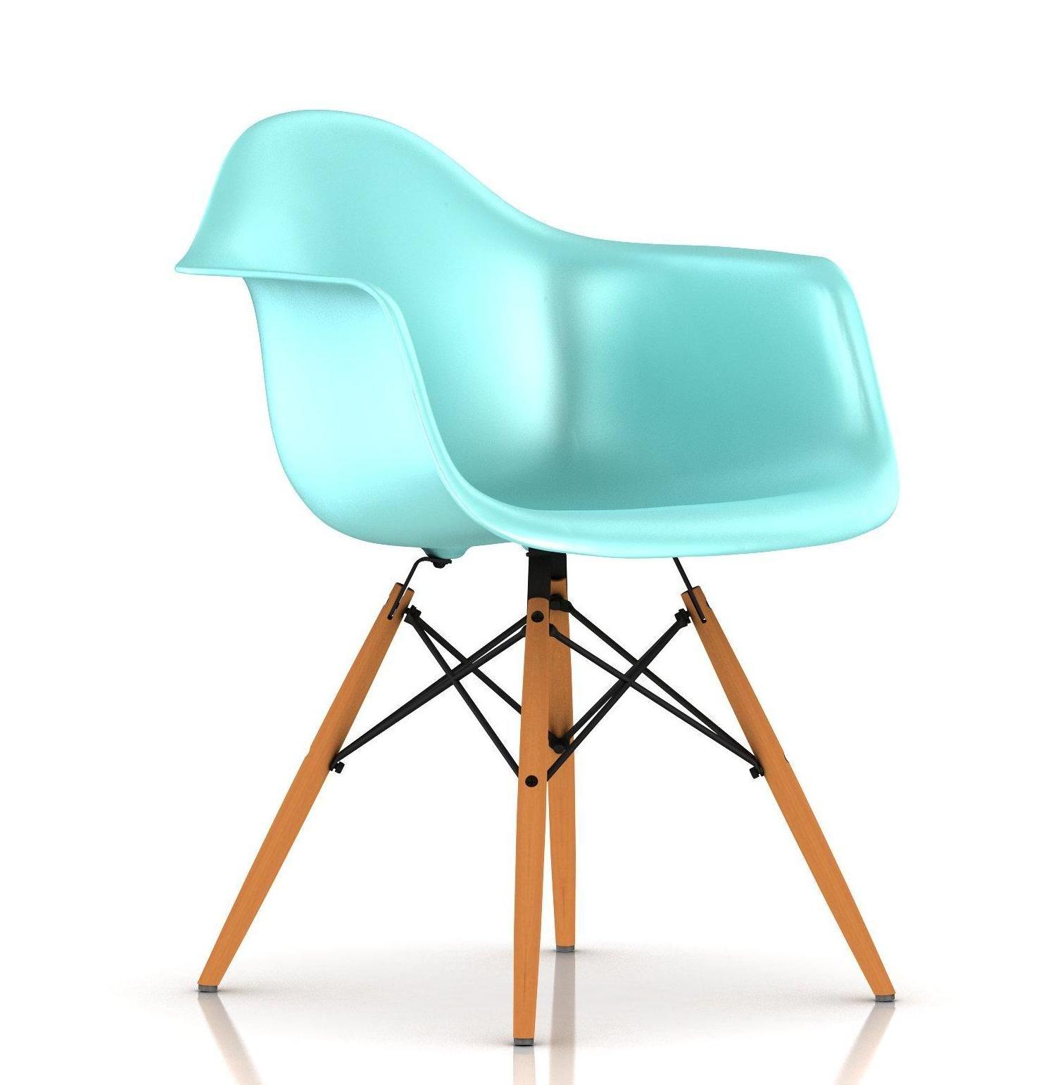 Silla Eames Plastic esta silla se dise±o para el concurso Low Cost furniture Design