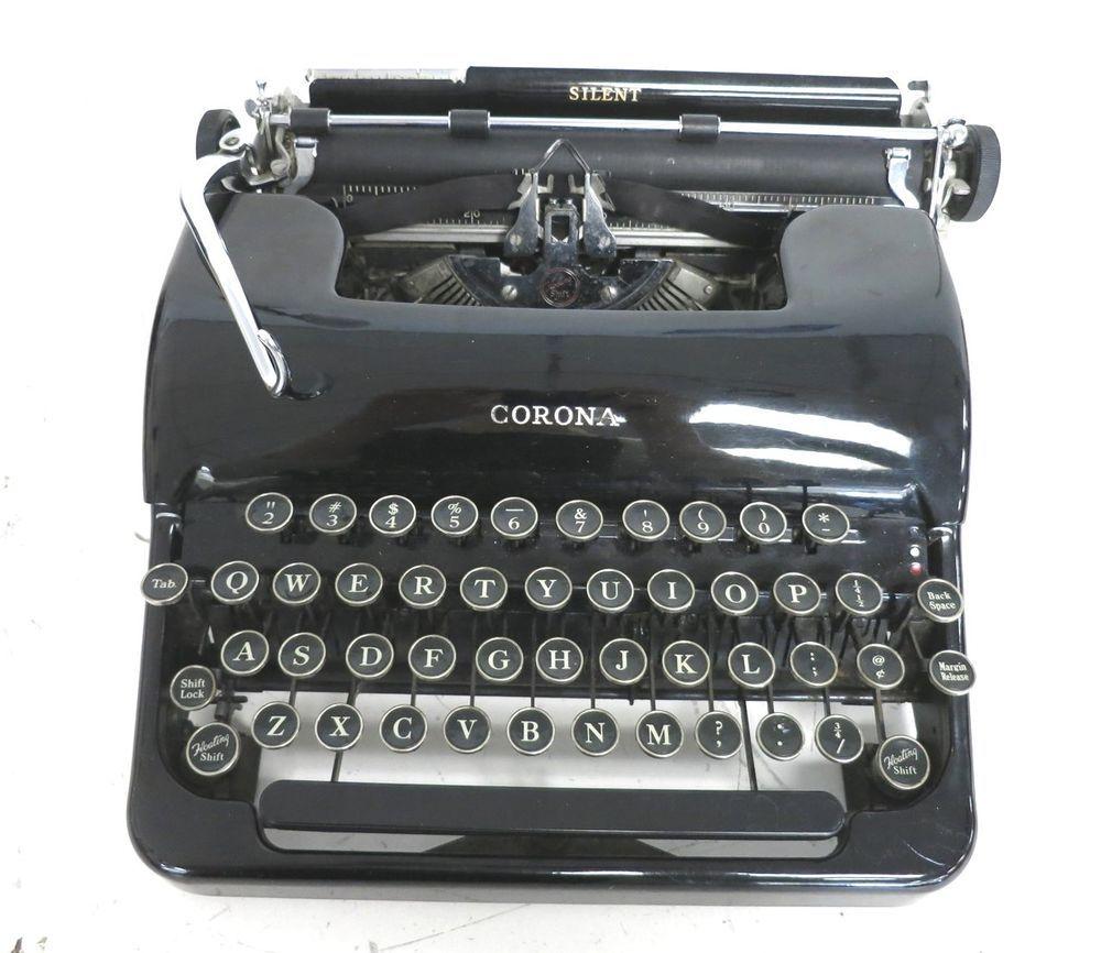 antique typewriters smith corona
