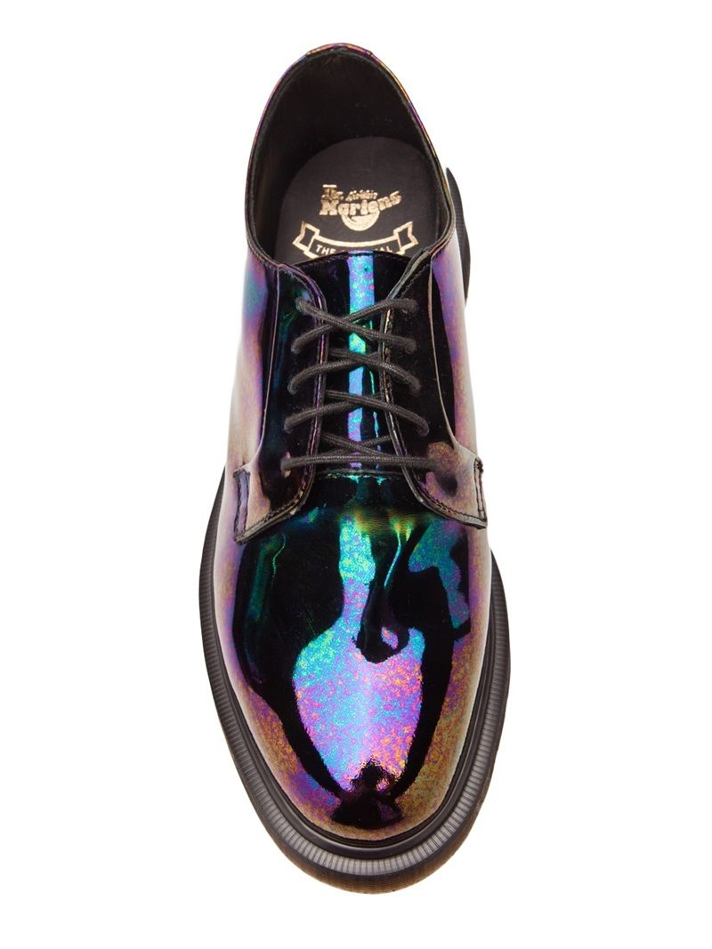 Dr. Martens, Classic Lex Shoe. Patent Leather with