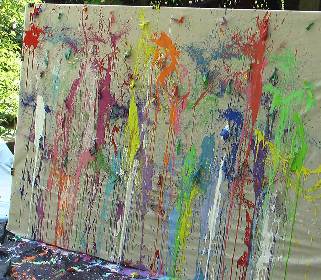 Throw Darts At Paint Balloons Like In Princess Diaries Balloon Painting Summer Art Projects Kids Art Class