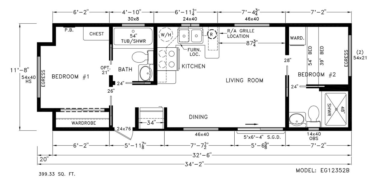 Home Eagle 12352b Floor Plan Chariot Eagle Manufactured And Park Model Rvs From Chariot Eagle Floor Plans Park Model Homes Park Model Rv