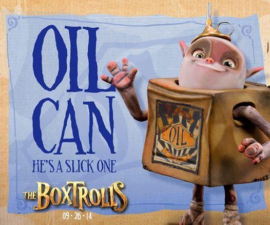 oil can boxtrolls - Google Search