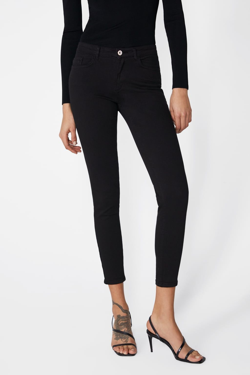 115a4e8ad6 Image 2 of SKINNY TROUSERS from Zara | stuff to buy ekkor: 2019 ...