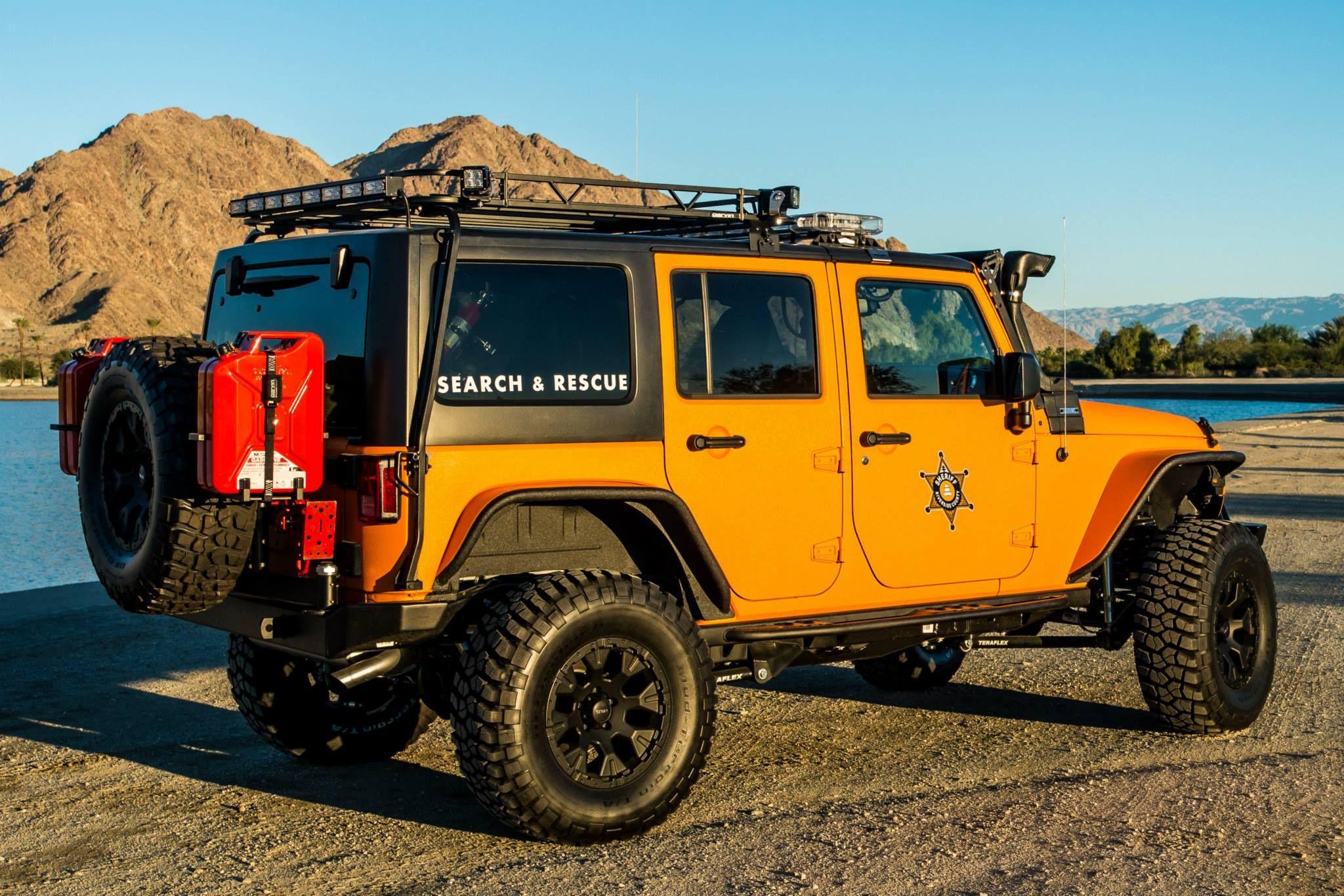Search and Rescue JK Wrangler Jeep Jeep JK Wrangler