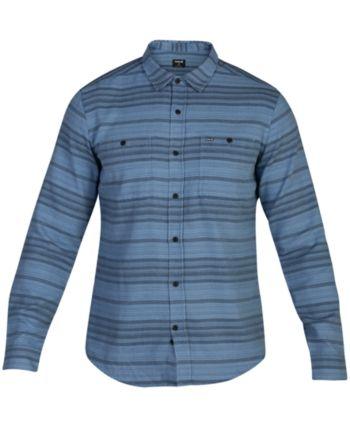 9e1ac68999 Hurley Men Blake Long Sleeve Shirt in 2019 | Products | Hurley, Long ...