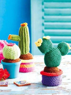 Jardim colorido em crochê