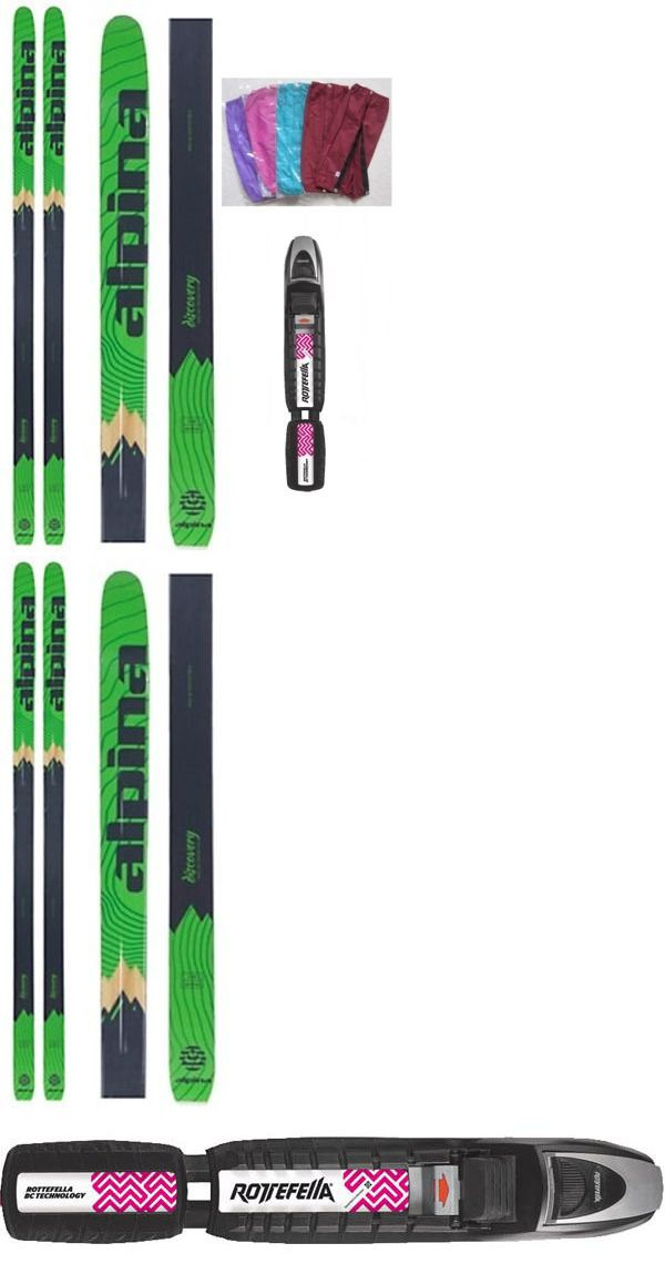 Skis New Alpina Discovery Metal Bc Back Cross Country Skis - Alpina discovery skis