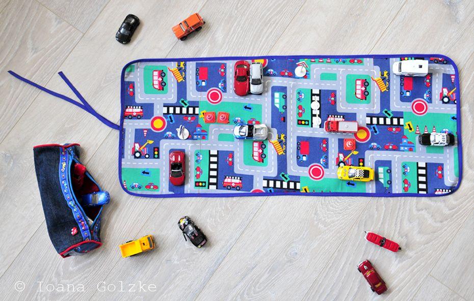 Straßenteppich / Autoteppich \'To Go\' - unetbehrlich für Jungs im ...
