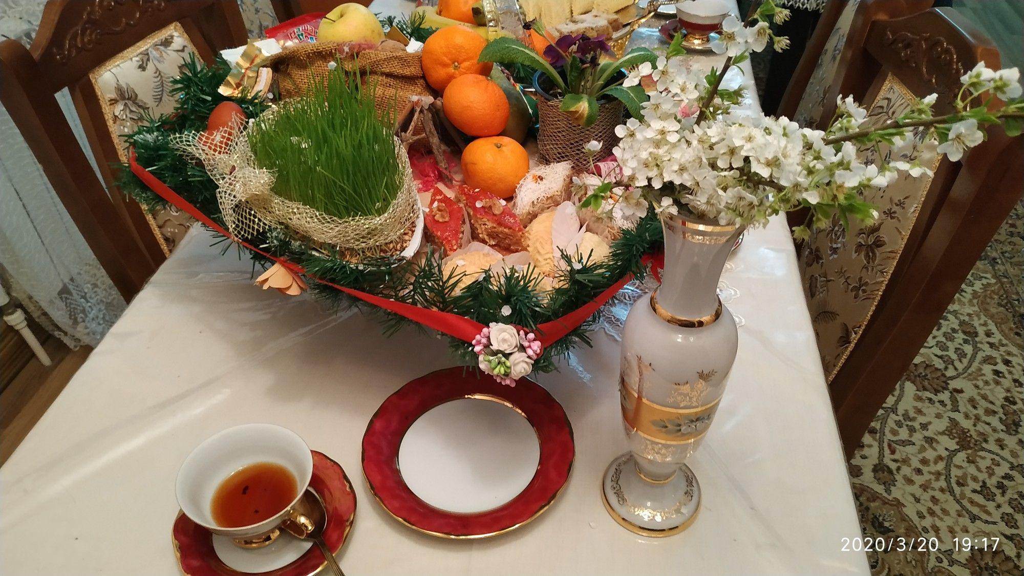 Novruz Xoncasi Bahar Cicəyi Table Decorations Decor Home Decor