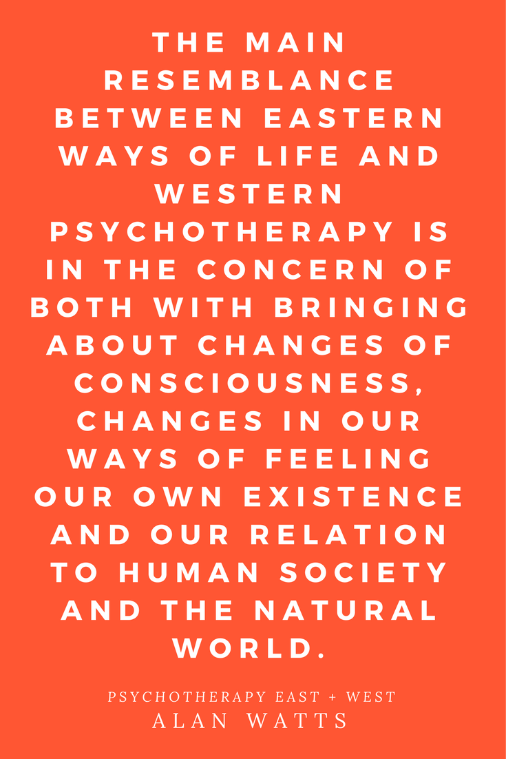Psychotherapy East & West Alan Watts