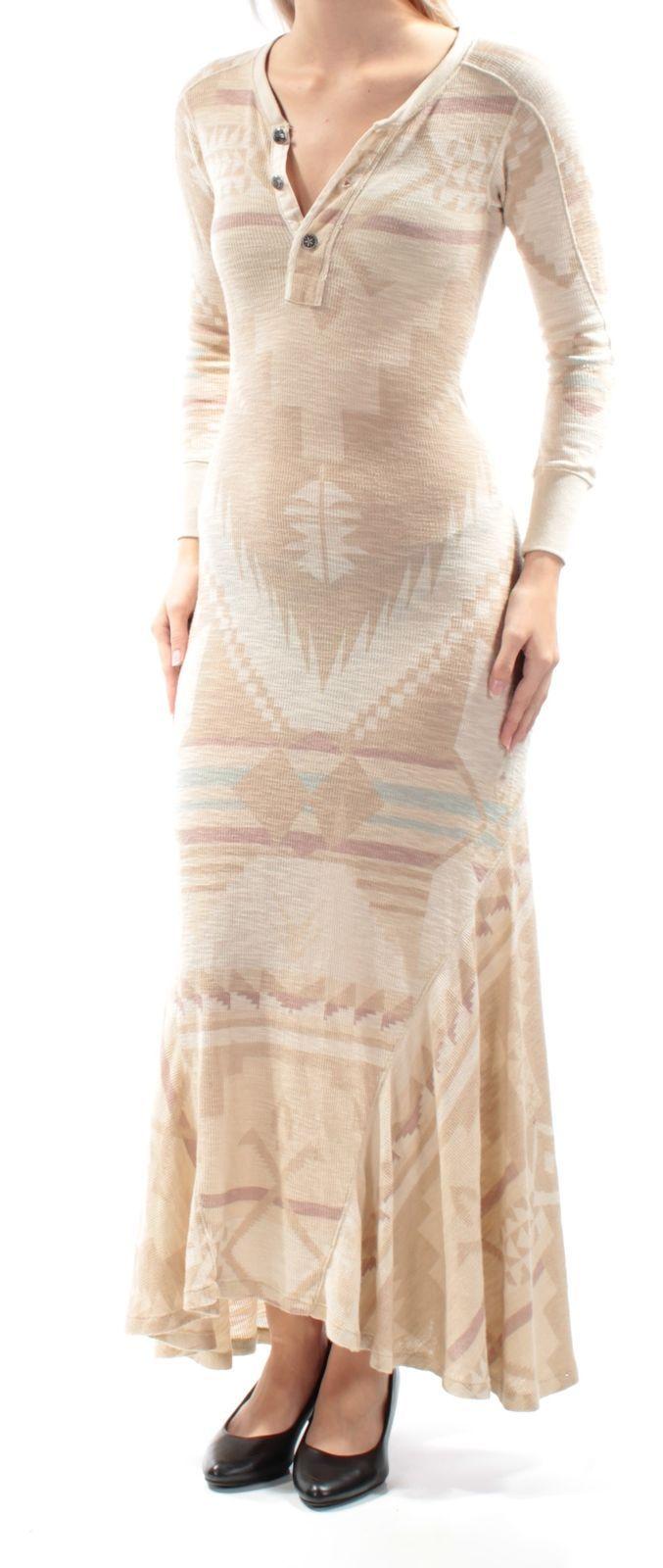 Nice great ralph lauren womens new beige tribal long