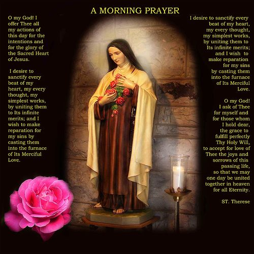 Saint Therese of the Child Jesus by Emilyannamarie, via Flickr