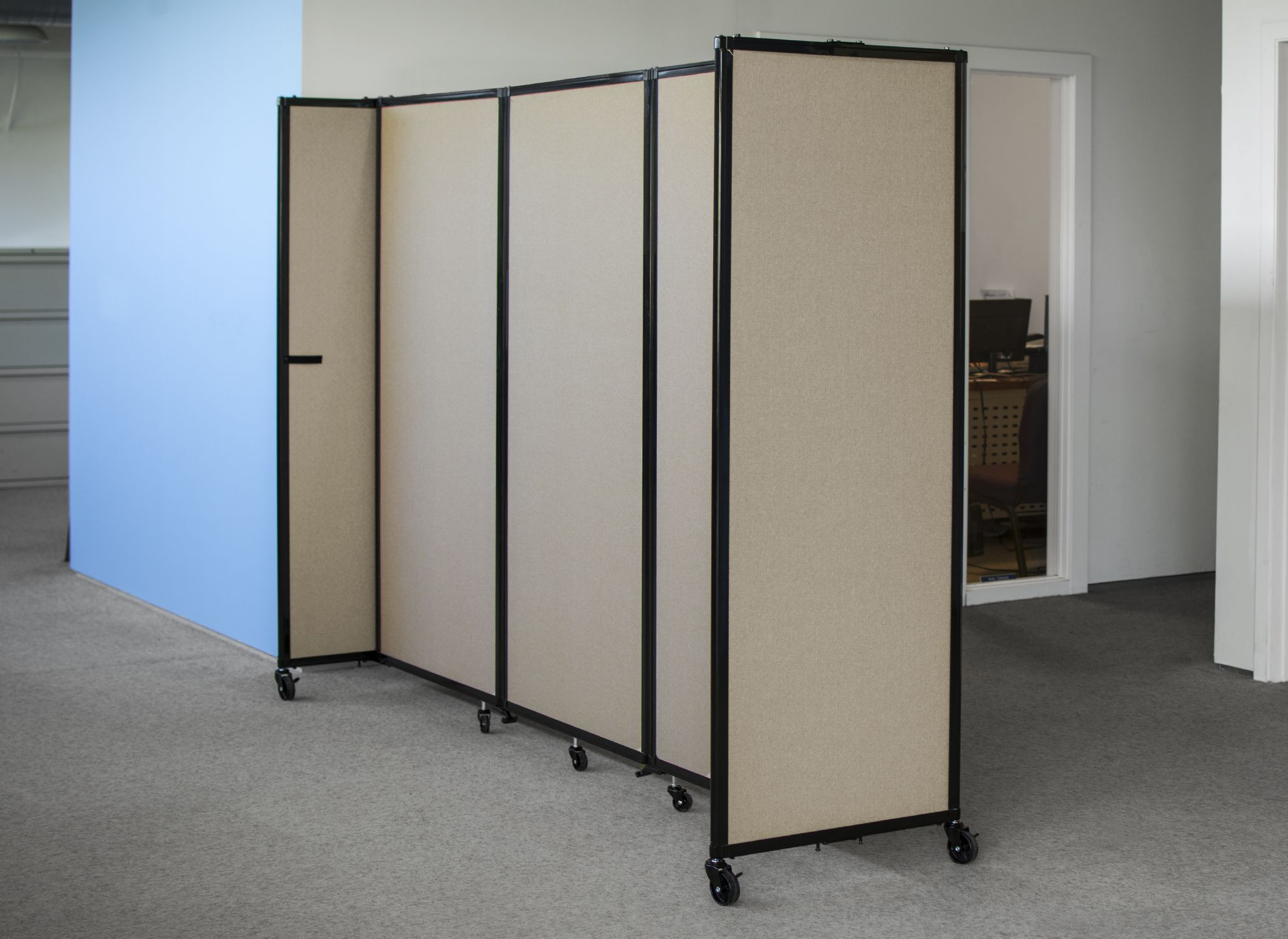 Office Room Divider. A Little Privacy In An Open Space Can Make Big  Difference.