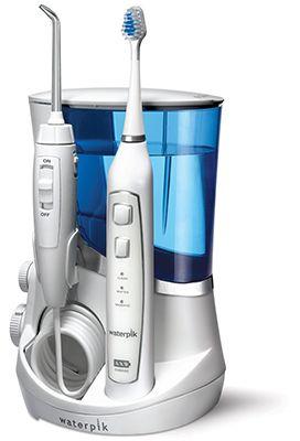 The Review Stew Brushing Teeth Water Flosser Waterpik