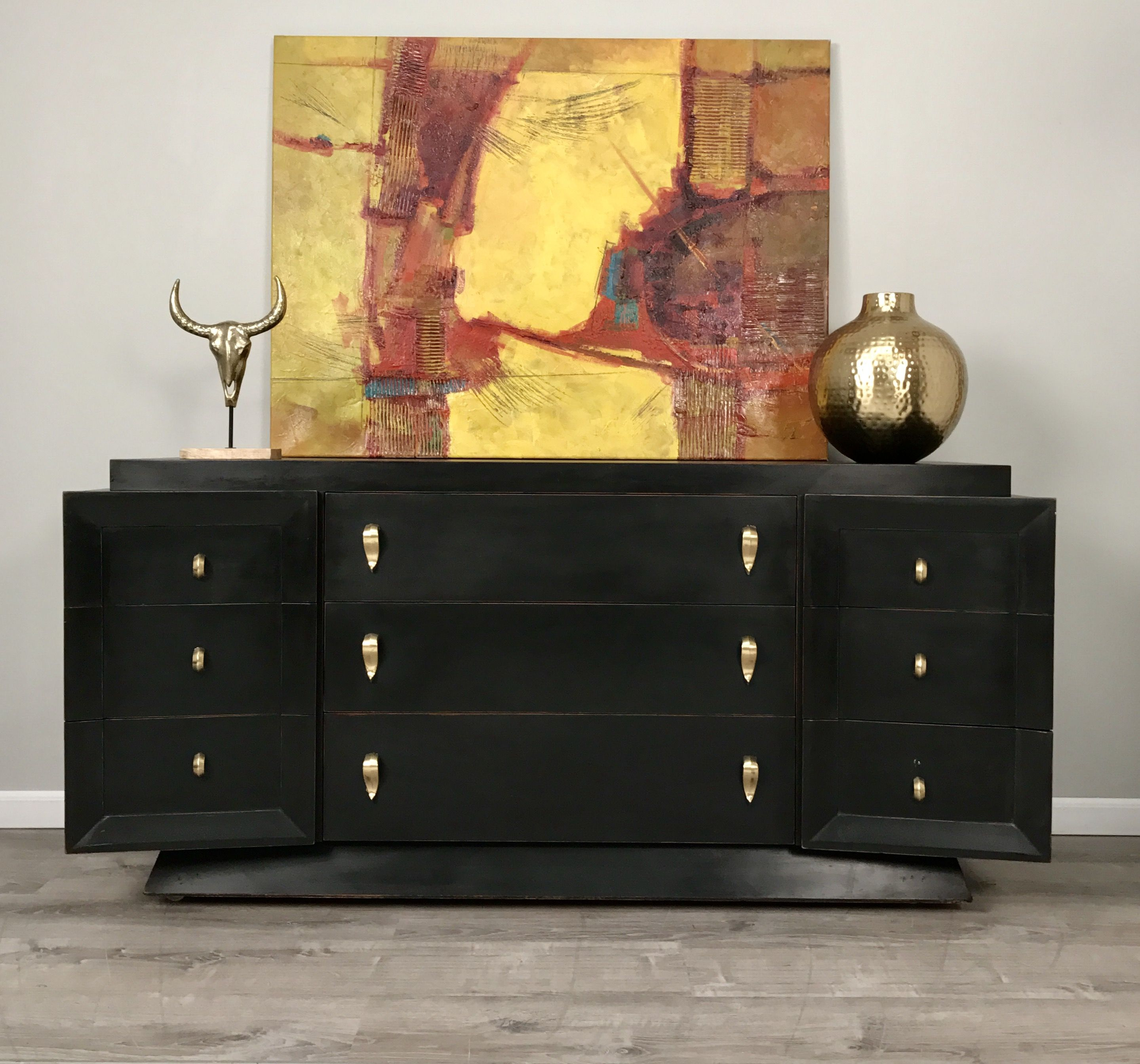 SOLD Carla by Design Gorgeous Mid Century Dresser Buffet in