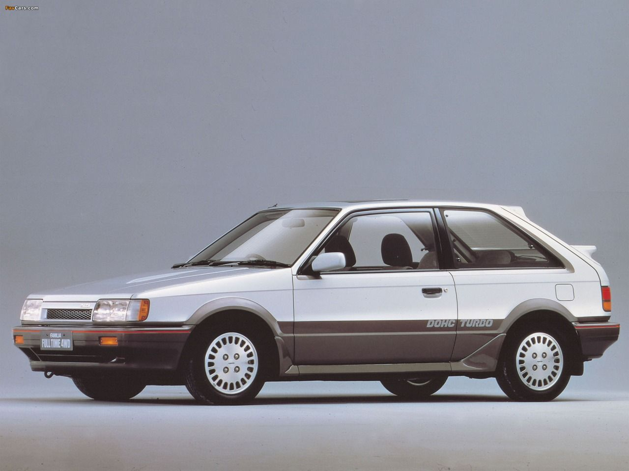 Mazda Familia Turbo Sedan Automotive Pinterest