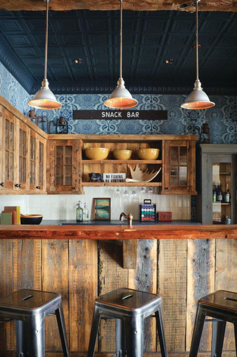 Inspira O Do Dia Cozinha R Stica E Industrial Pinterest Bar
