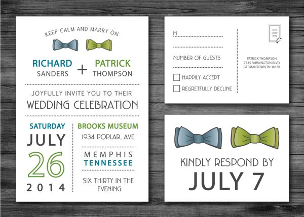 Same Wedding Invitations on Behance