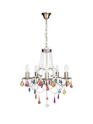 Galleried 5 light chandelier http www littlewoods com 5 light chandelierchandeliersceiling