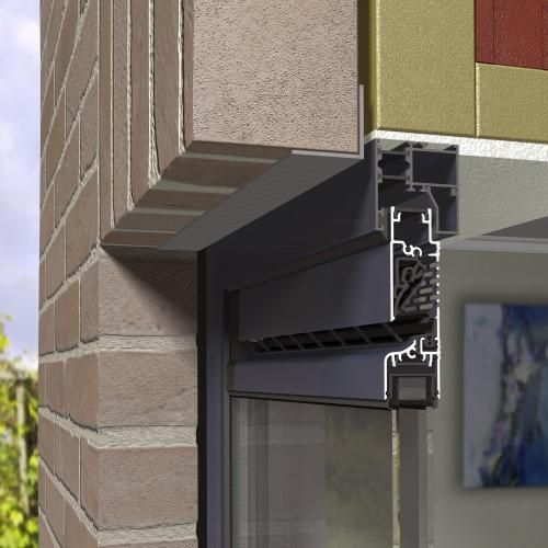 Ventilatierooster thm 90 principedoorsnede dlb for Dlb meuble