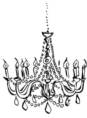 Marecas Drawings Chandelier