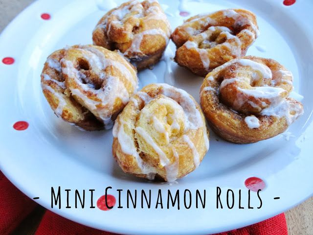 Confections + Coffee: Mini Cinnamon Rolls