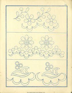 Old Historic Pattern Books:  Borders :)