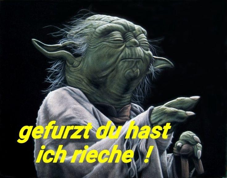 Yoda Star Wars Lustig Witzig Spruche Bild Bilder Gefurzt Du Hast