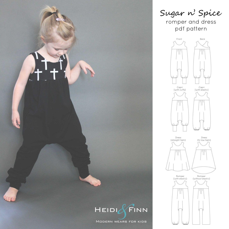Was für ein Spaß Kleid und Strampler für Ihr kleines Mädchen! Dieses ...