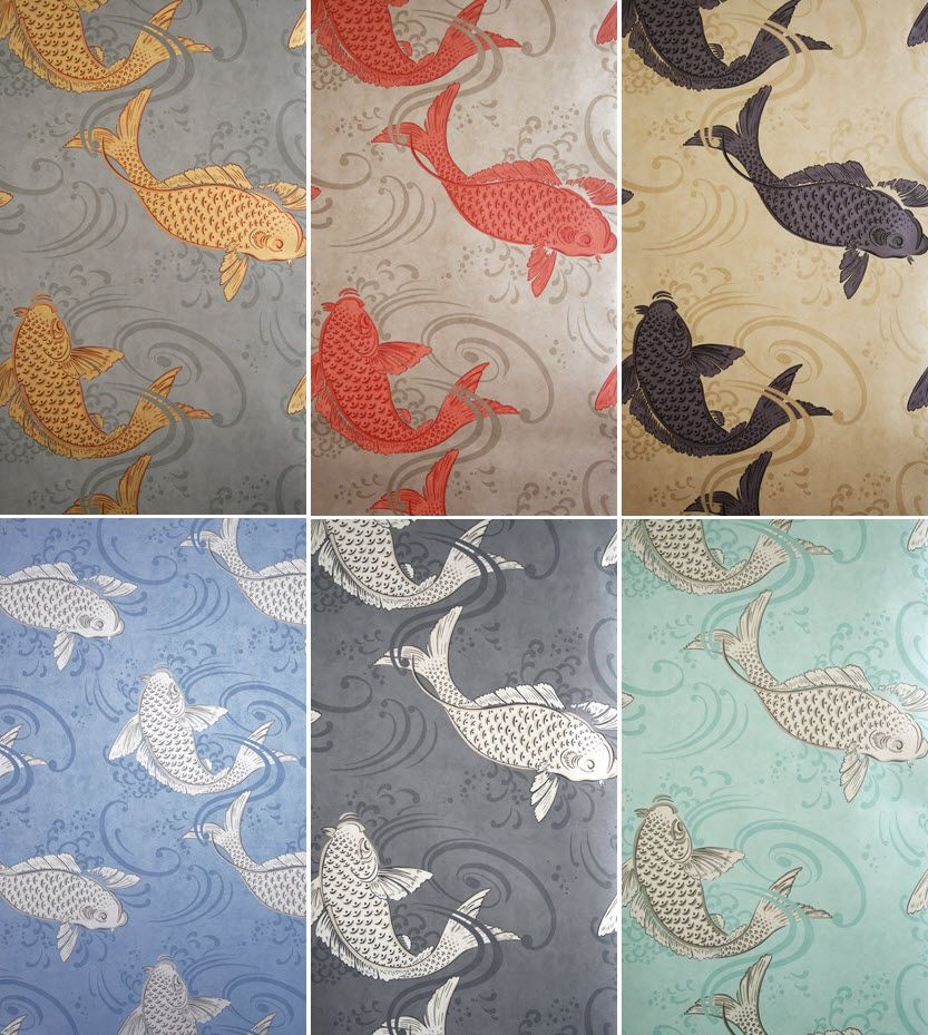 When i was little and would go fishing at my lake i would for Koi wallpaper for walls
