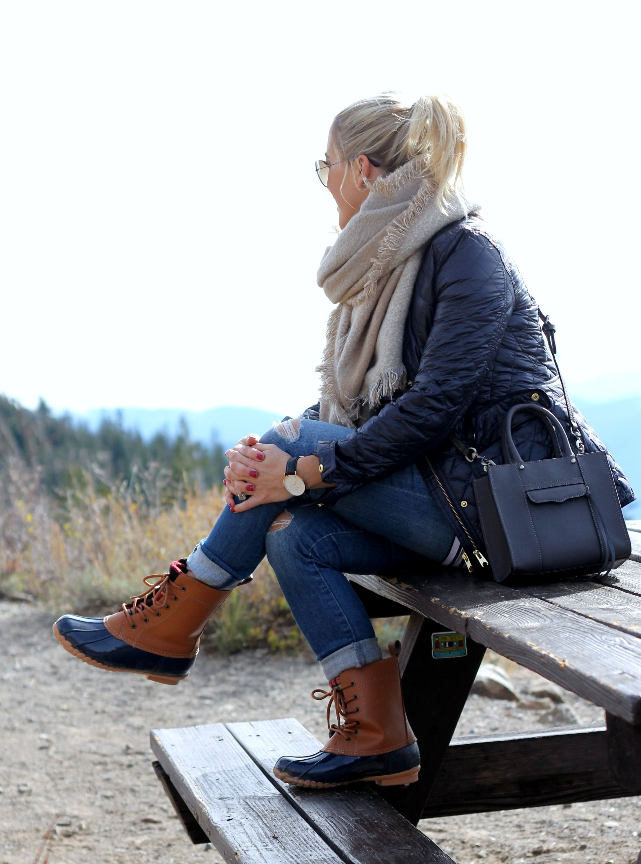 ways to wear your duck boots - gbo fashion | for the love blog