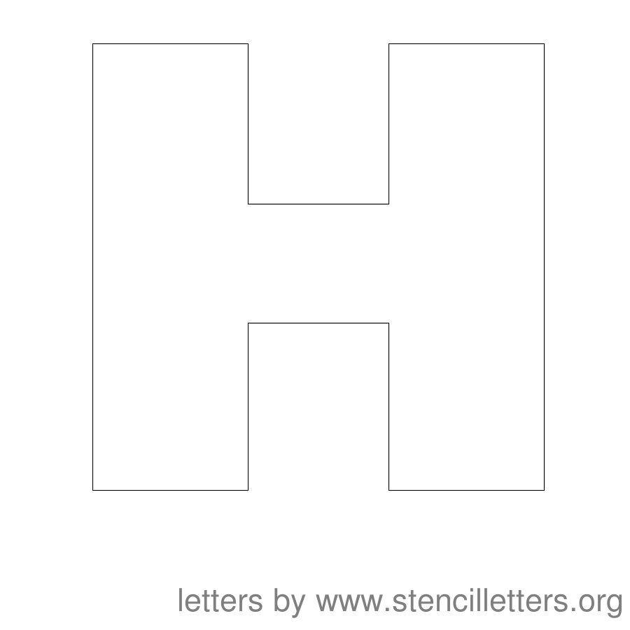 f00dc64fd43f35d60db36cb47ae1a8e4  Inch Block Letters H Template on block numbers template, monogram letter template, block letter alphabet template, block writing template, block pyramid template,