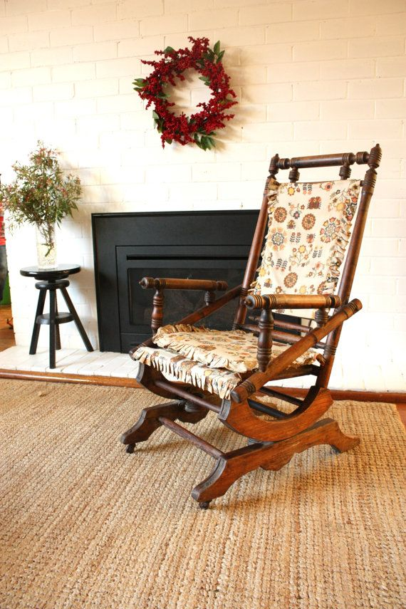 Dexter Rocking Chair By Tribecasvintage On Etsy 85 00