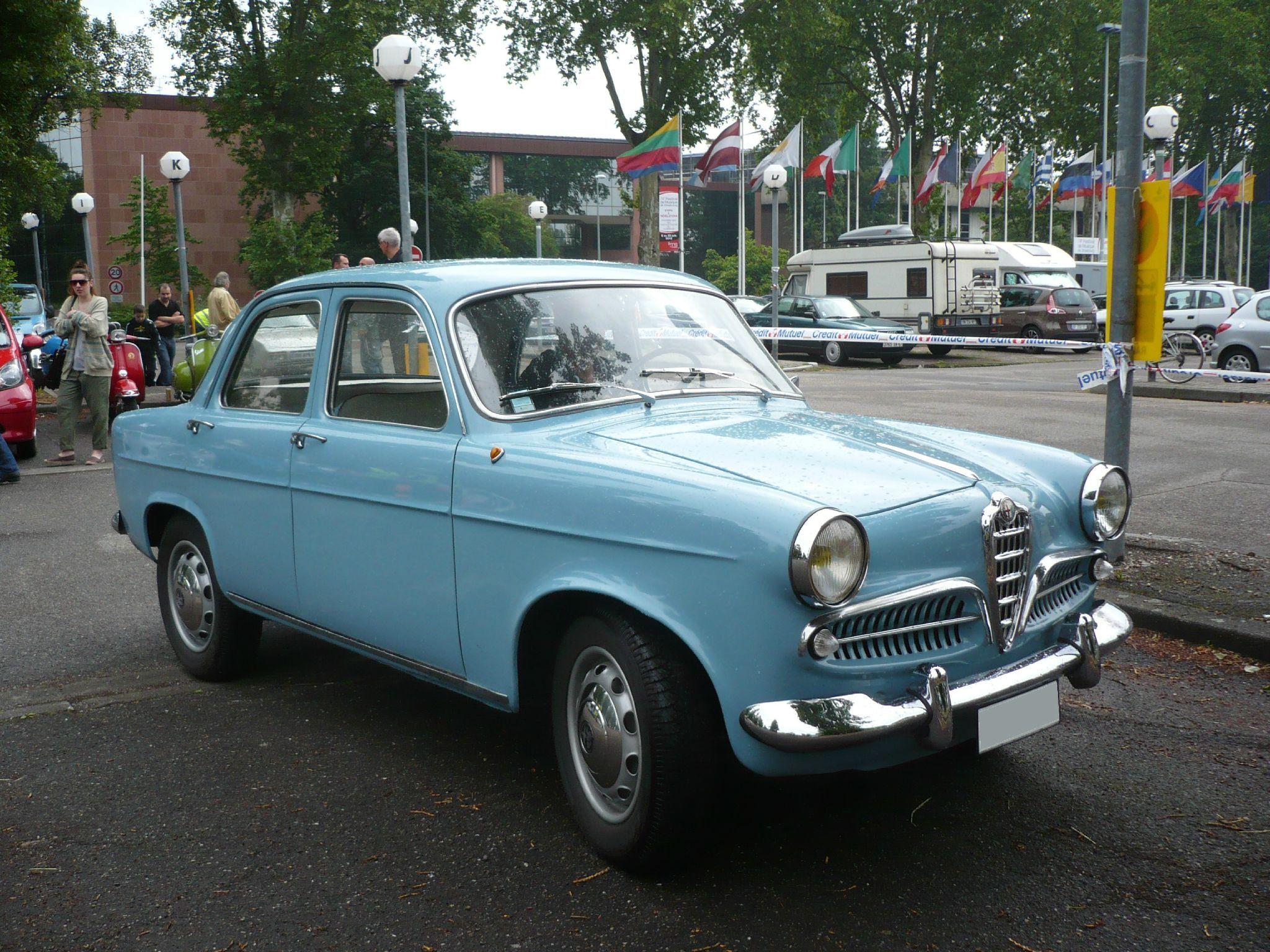 1961 Alfa Romeo Giulietta Berlina T I Cars Pinterest