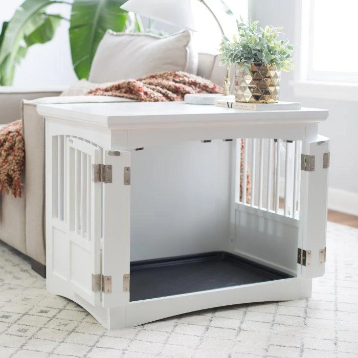 Summer Breeze Dog Crate Table Crate Furniture Dog Crate Furniture Dog Crate Table Large dog crate end table