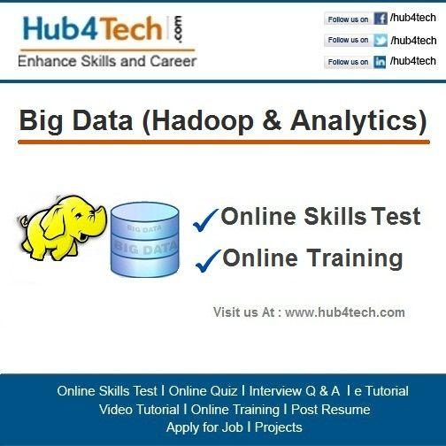 Hub4Tech portal provides Online Skill Test  Training on Big - resume quiz