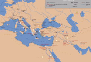 Greco Roman world A map of the ancient world centred on Greece