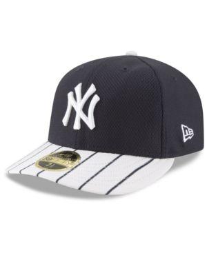 1b11da066ed New Era New York Yankees Batting Practice Diamond Era Low Profile 59FIFTY  Cap - Navy White 7 1 4