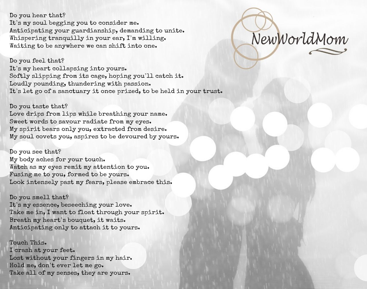 #wordporn #love #quotes #poem #beauty #beautifulwords #newworldmom Www.