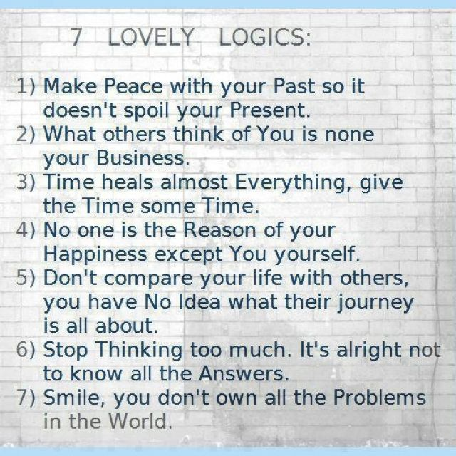 Wise Words!